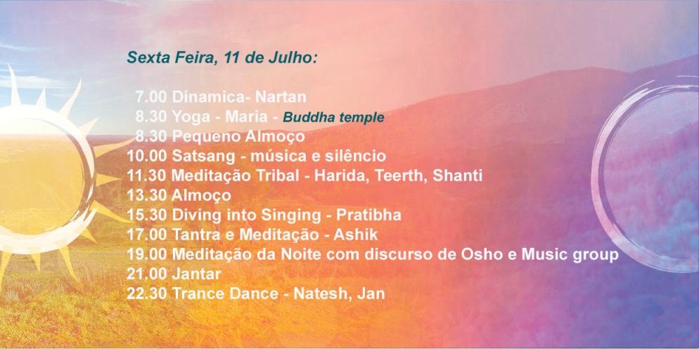 Osho Festival 2014,Sexta Feira